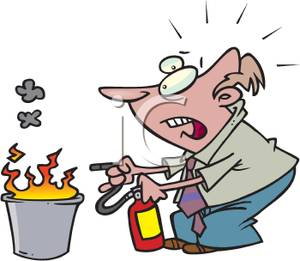 a_businessman_putting_a_wastebasket_fire_out_with_a_fire_extinguisher_110211-185526-435009